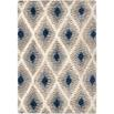 Orian Rugs Cotton Tail JA09 Ikat Diamond Multi Area Rug