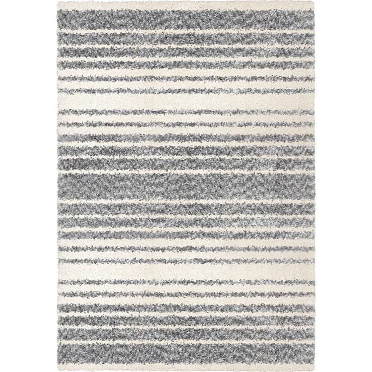 Orian Rugs Cotton Tail JA13 Ombre Stripe Grey Area Rug