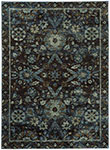 Oriental Weavers Andorra 7124A Navy Blue Area Rugs