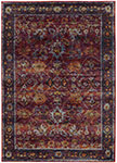 Oriental Weavers Andorra 7153A Red Purple Area Rugs