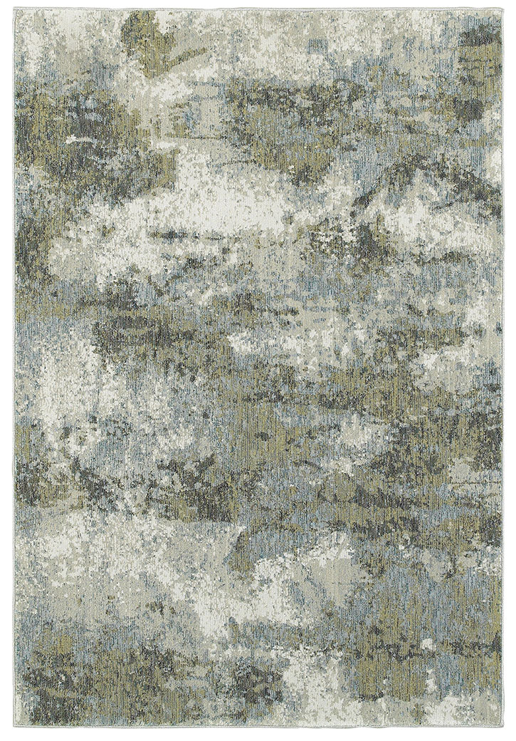 Oriental Weavers Evolution 8039e Blue Green Area Rug