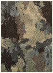 Oriental Weavers Evolution 8011B Blue/ Brown Area Rug