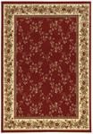 Radici Como 1590 Red Area Rug
