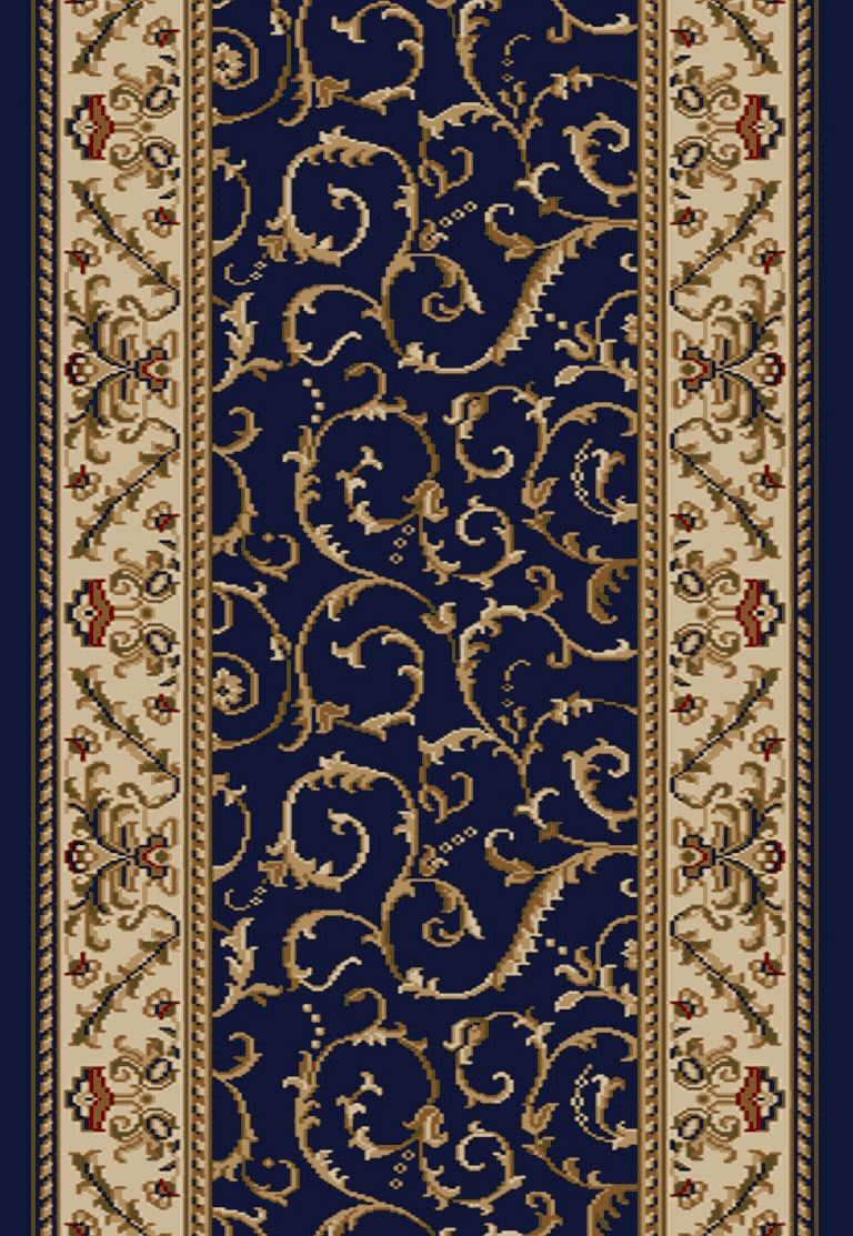Radici Como 1599 Navy 2 2 Quot 26 Quot Wide Hall And Stair