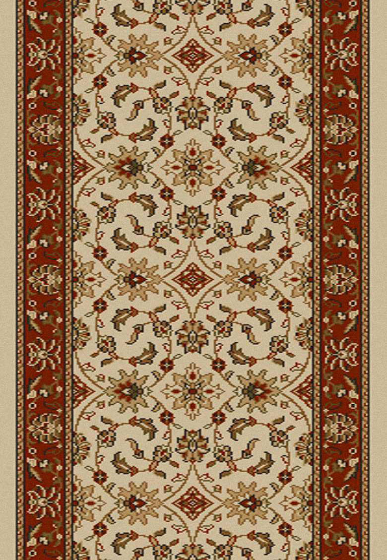 Radici Como 1592 Ivory Brick Hall And Stair Runner