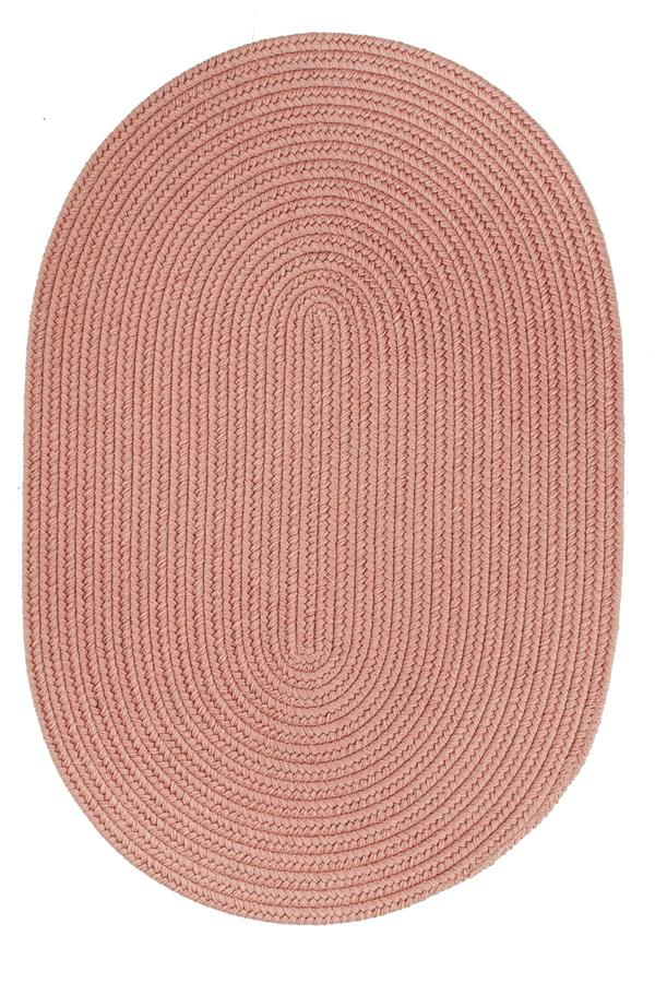 Rhody Rug Wool Solids S106 Old Rose Area Rug Carpetmart Com