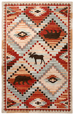Rizzy Home Northwoods NWD103 Area Rug