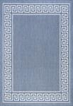 Tayse Eco Giovanna ECO1002 Blue Area Rug