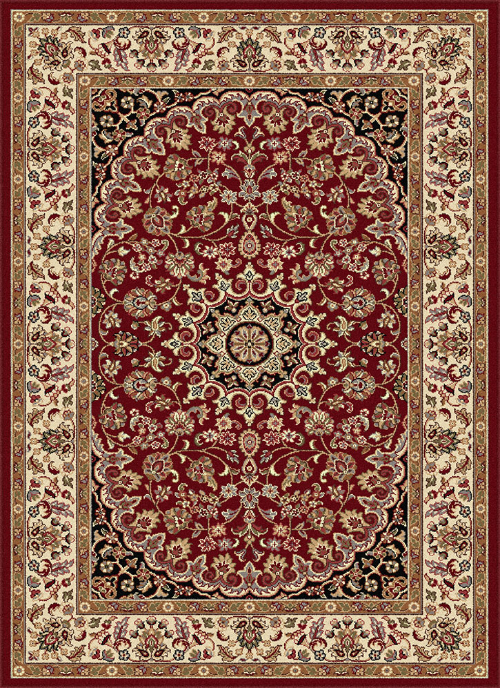 Tayse Elegance 5390 Red Area Rug Traditional Rugs
