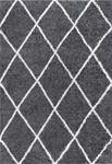 Tayse Soho Shag Derry SOH1201 Gray Area Rug
