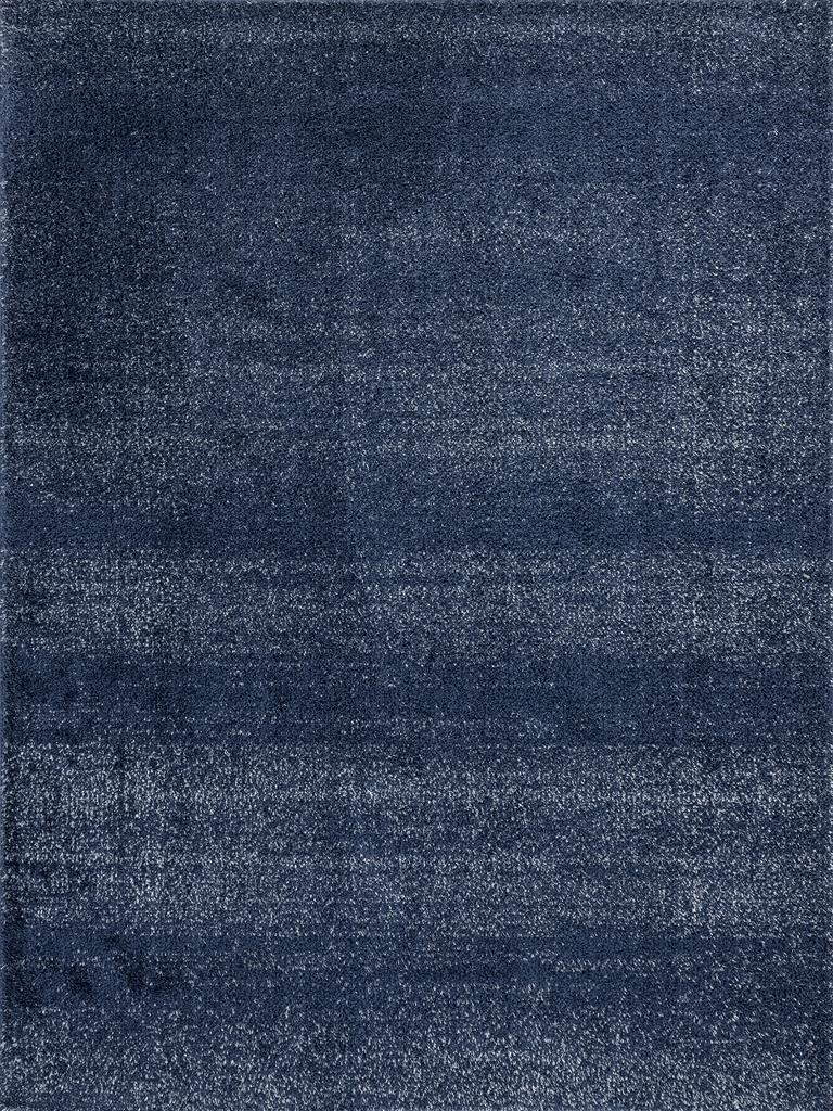 Tayse Wembley Shag Warren WMB3225 Navy Area Rug