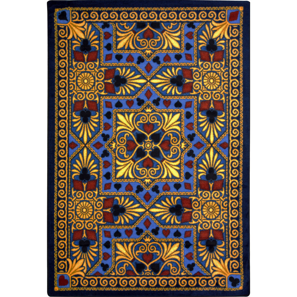 Game Area Rugs: Joy Carpets Games People Play Jackpot Navy Area Rug