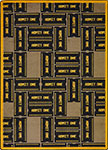 Any Day Matinee Admit One Brown Area Rug by Joy Carpets