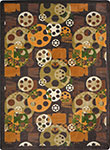 Any Day Matinee Blockbuster Brown Area Rug by Joy Carpets