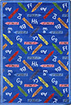Playful Patterns Crayons Blue Area Rug by Joy Carpets