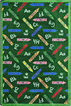Playful Patterns Crayons Green Area Rug by Joy Carpets