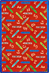 Playful Patterns Crayons Red Area Rug by Joy Carpets