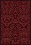 Any Day Matinee Damascus Burgundy Area Rug by Joy Carpets