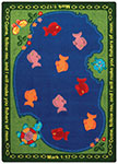 Kid Essentials - Inspirational Fishers of Men Multi Area Rug by Joy Carpets
