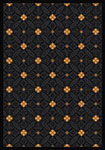 Any Day Matinee Fort Wood Black Area Rug by Joy Carpets