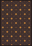 Any Day Matinee Fort Wood Brown Area Rug by Joy Carpets