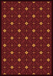 Any Day Matinee Fort Wood Burgundy Area Rug by Joy Carpets