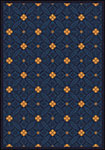 Any Day Matinee Fort Wood Navy Area Rug by Joy Carpets