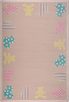 Kid Essentials - Infants & Toddlers Frisky Friends Multi Area Rug by Joy Carpets