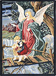 Kid Essentials - Inspirational Guardian Angel Multi Area Rug by Joy Carpets