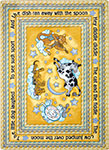 Kid Essentials - Infants & Toddlers Hey Diddle Diddle Yellow Area Rug by Joy Carpets
