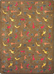 Kaleidoscope Jalapeno Fiesta Chocolate Area Rug by Joy Carpets