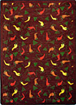 Kaleidoscope Jalapeno Fiesta Garnet Area Rug by Joy Carpets