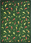 Kaleidoscope Jalapeno Fiesta Emerald Area Rug by Joy Carpets
