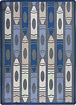 Playful Patterns Jumbo Crayons Seaside Area Rug by Joy Carpets