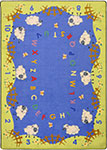 Kid Essentials - Infants & Toddlers Lamby Pie Multi Area Rug by Joy Carpets