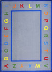 Kid Essentials - Infants & Toddlers Learn Your Letters Multi Area Rug by Joy Carpets