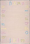 Kid Essentials - Infants & Toddlers Polka Dot ABCs Multi Area Rug by Joy Carpets