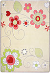 Kid Essentials - Infants & Toddlers Pretty Posies Multi Area Rug by Joy Carpets
