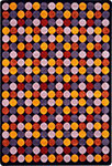 Kid Essentials - Teen Roundabout Plum Area Rug by Joy Carpets