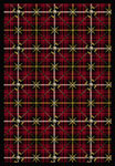 Games People Play Saint Andrews Lumberjack Red Area Rug by Joy Carpets