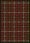 Games People Play Saint Andrews Tartan Green Area Rug by Joy Carpets