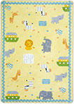 Kid Essentials - Infants & Toddlers Simply Noah Multi Area Rug by Joy Carpets