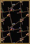 Games People Play Snookered Black Area Rug by Joy Carpets
