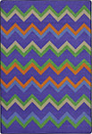 Kid Essentials - Teen Sonic Violet Area Rug by Joy Carpets