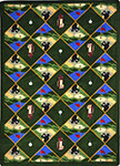 Games People Play Spike N' Tee Multi Area Rug by Joy Carpets