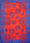 Kid Essentials - Teen Whimzi Red Area Rug by Joy Carpets