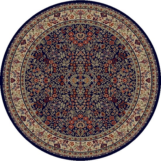 Mohawk Home Traditional Jewel Rug: Concord Global Jewel 4114 Navy Area Rug