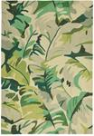 Liora Manne Capri 1668/06 Palm Leaf Green Area Rug