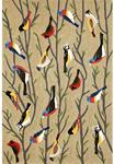 Liora Manne Frontporch 1440/44 Birds Multi Area Rug