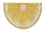 Liora Manne Frontporch 1556/09 Lemon Slice Yellow Area Rug